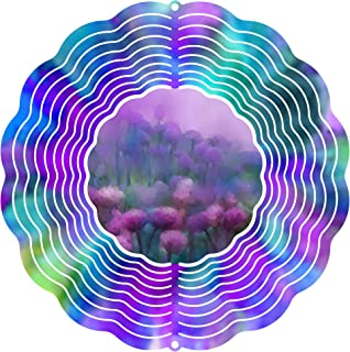 """product image for Next Innovations 101408001-SOFTMEADOW Wind Spinner, 10"""" Diameter, Multicolor"""