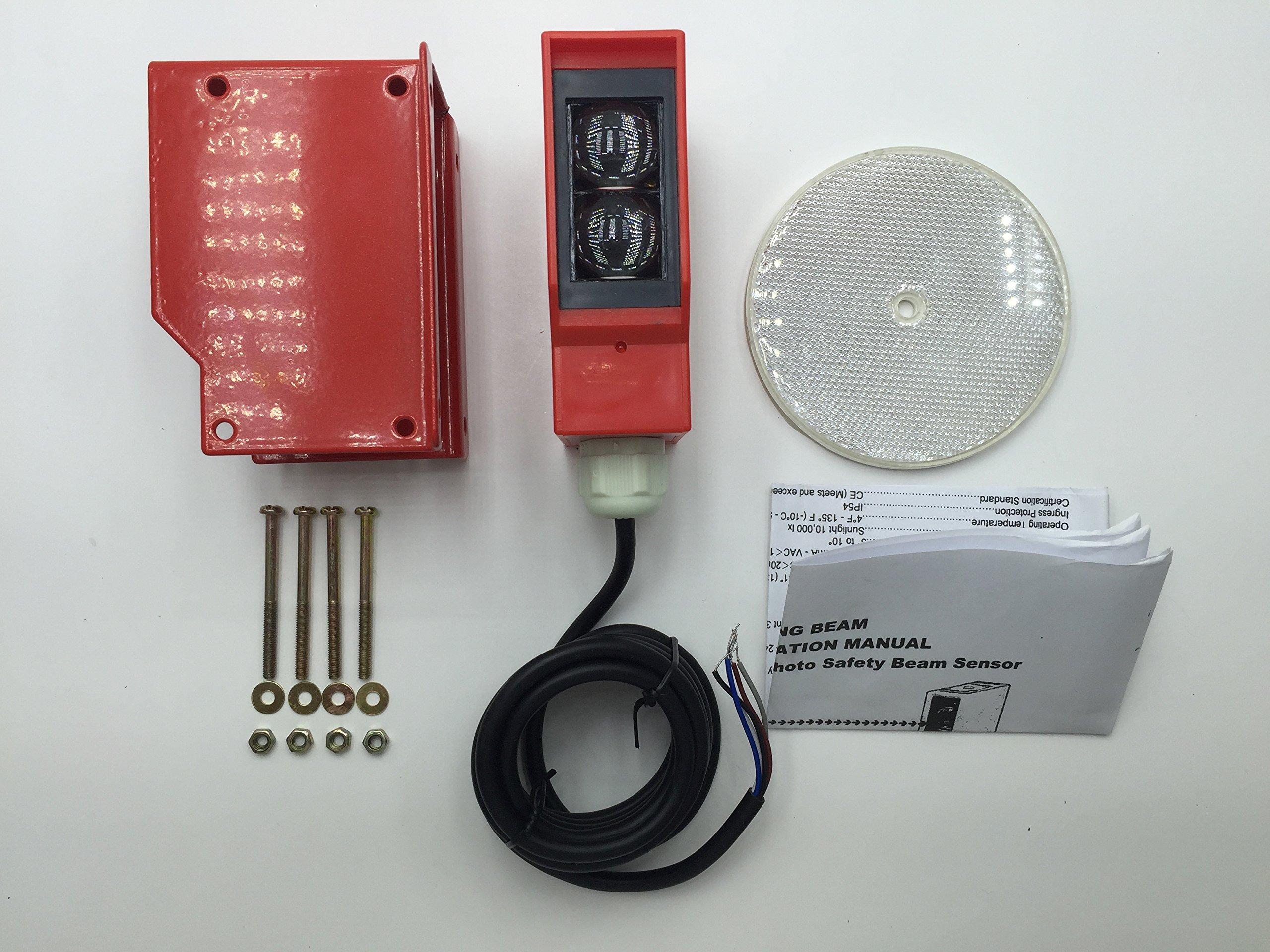 AMAZING BEAM Photo Safety Beam (2), Beam Sensor, Beam Detector, Photo Beam, Photo Switch, Garage Door Sensor, UNIVERSAL by S (Image #3)