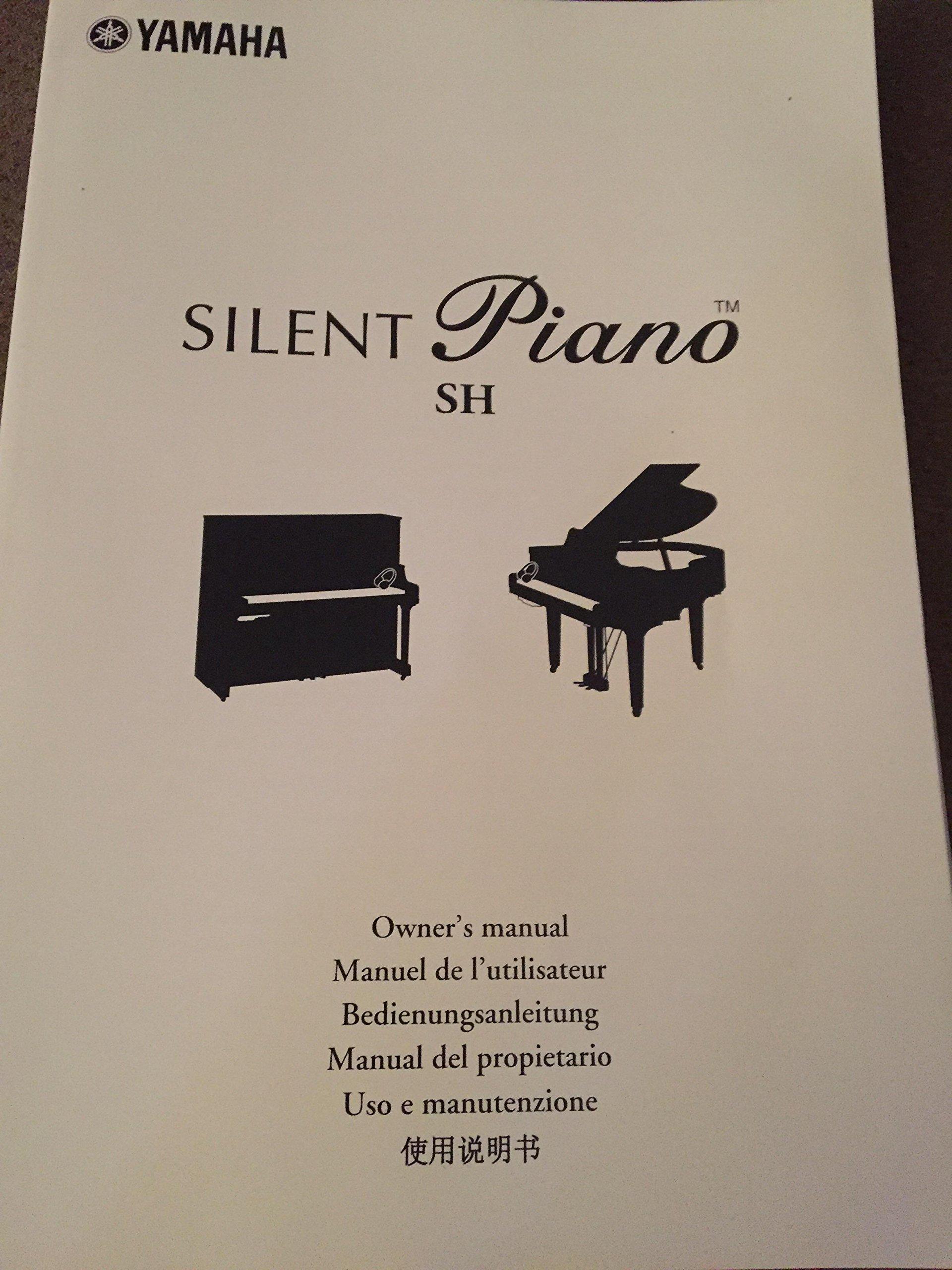 silent piano sh yamaha 2012 owner s manual yamaha amazon com books rh amazon com yamaha silent piano sh manual Piano Yamaha Hawaii