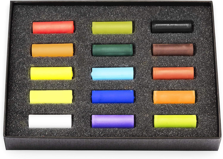 Royal Talens REMBRANDT soft pastels-Demi-taille-Burnt Sienna 5 couleurs