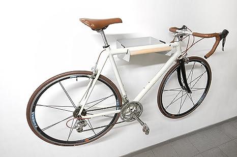 Estante de pared para colgar bicicletas y otros objetos: Amazon.es ...