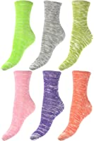 Low Cut Ankle Sock Set - 6 Pack - Textured Color