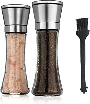 Zaraluxe Salt and Pepper Grinder Set