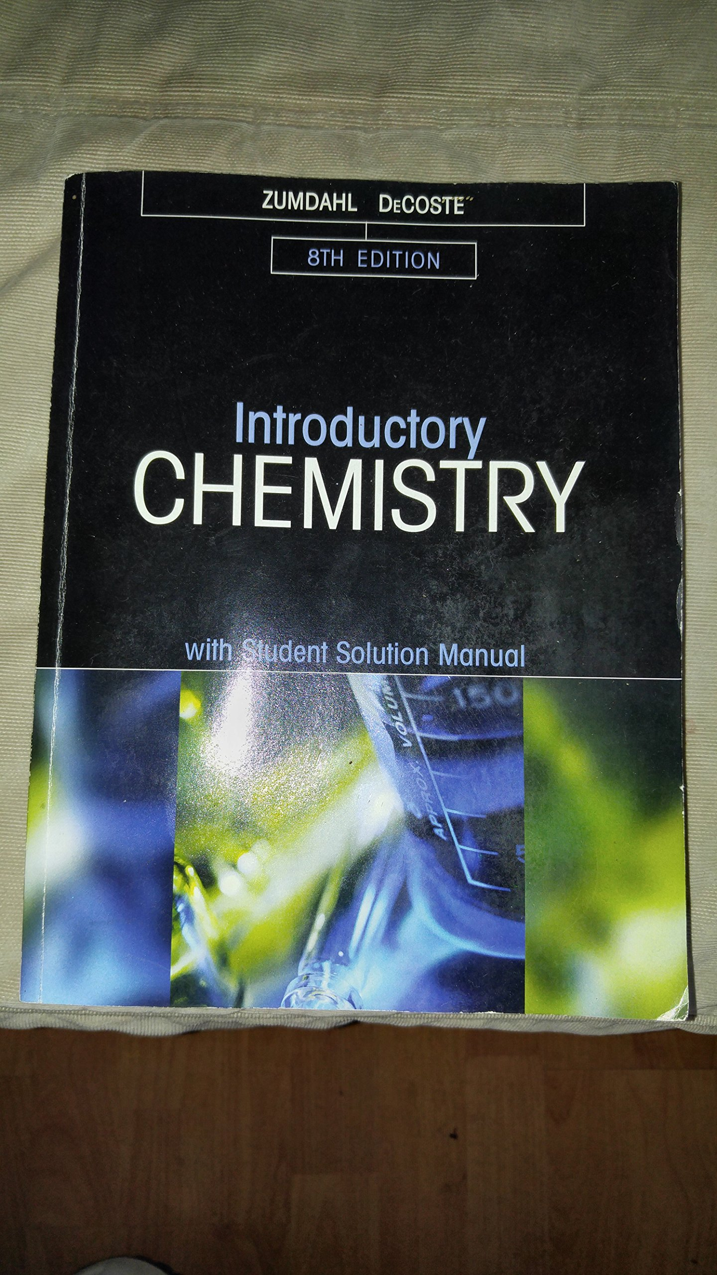 Introductory Chemistry with Student Solution Manual 8th Edition: Zumdahl,  DeCoste: 9781305282063: Amazon.com: Books