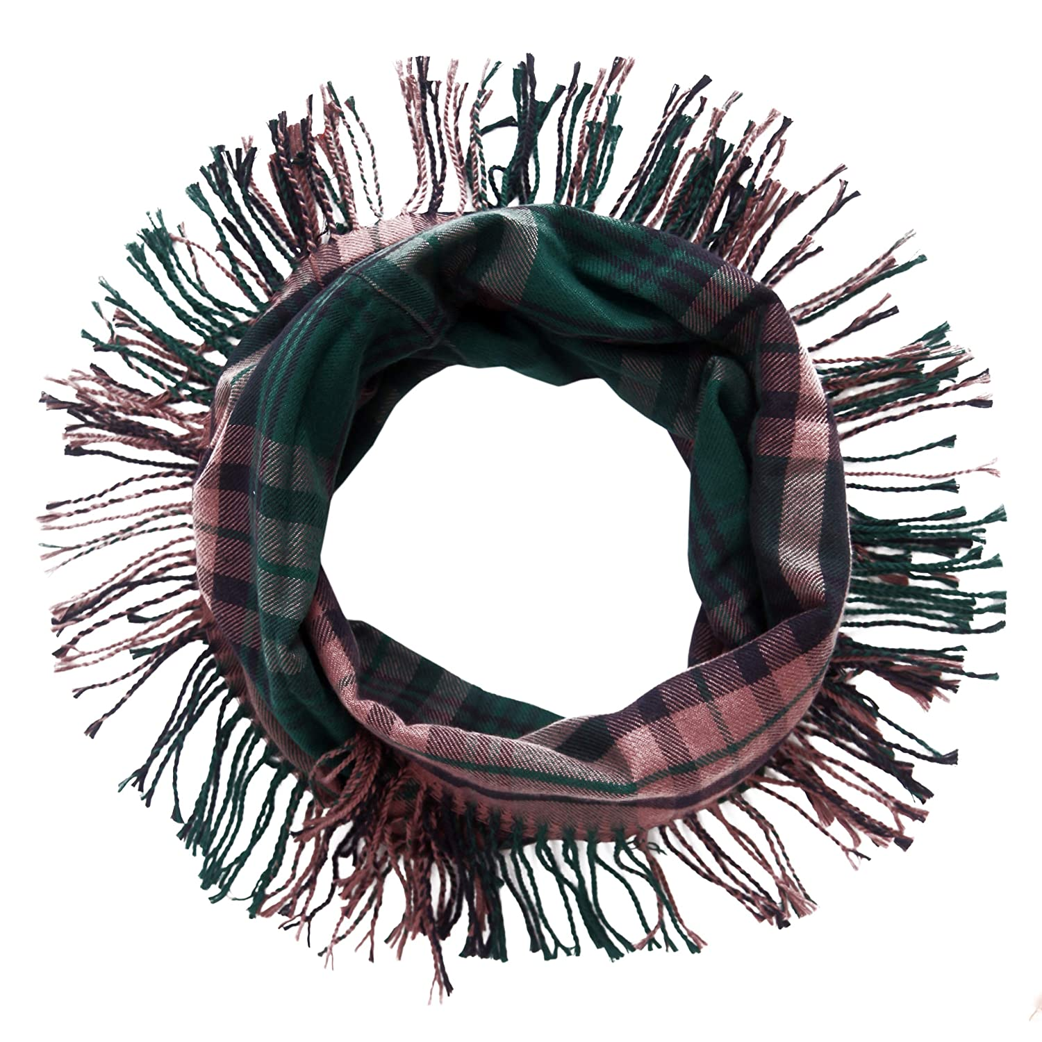 Missshorthair Women Plaid Infinity Scarf Winter Fashion Scarves With Square D Qo Qwikgard 15 Amp Singlepole Gfci Circuit Breaker Fringes A1865c 10