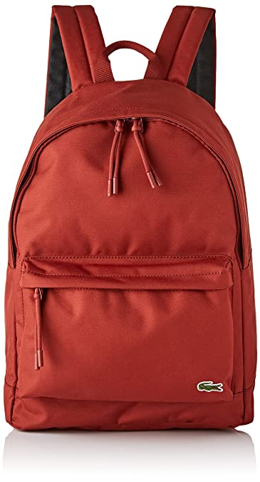 d22f9892003 Lacoste homme Nh2677ne Sac a dos Rouge (Burnt Henna)  Amazon.fr ...