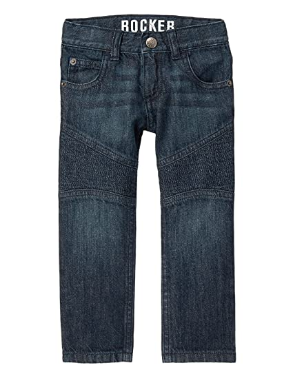 Crazy 8 Boys Moto Stitch Denim Pant
