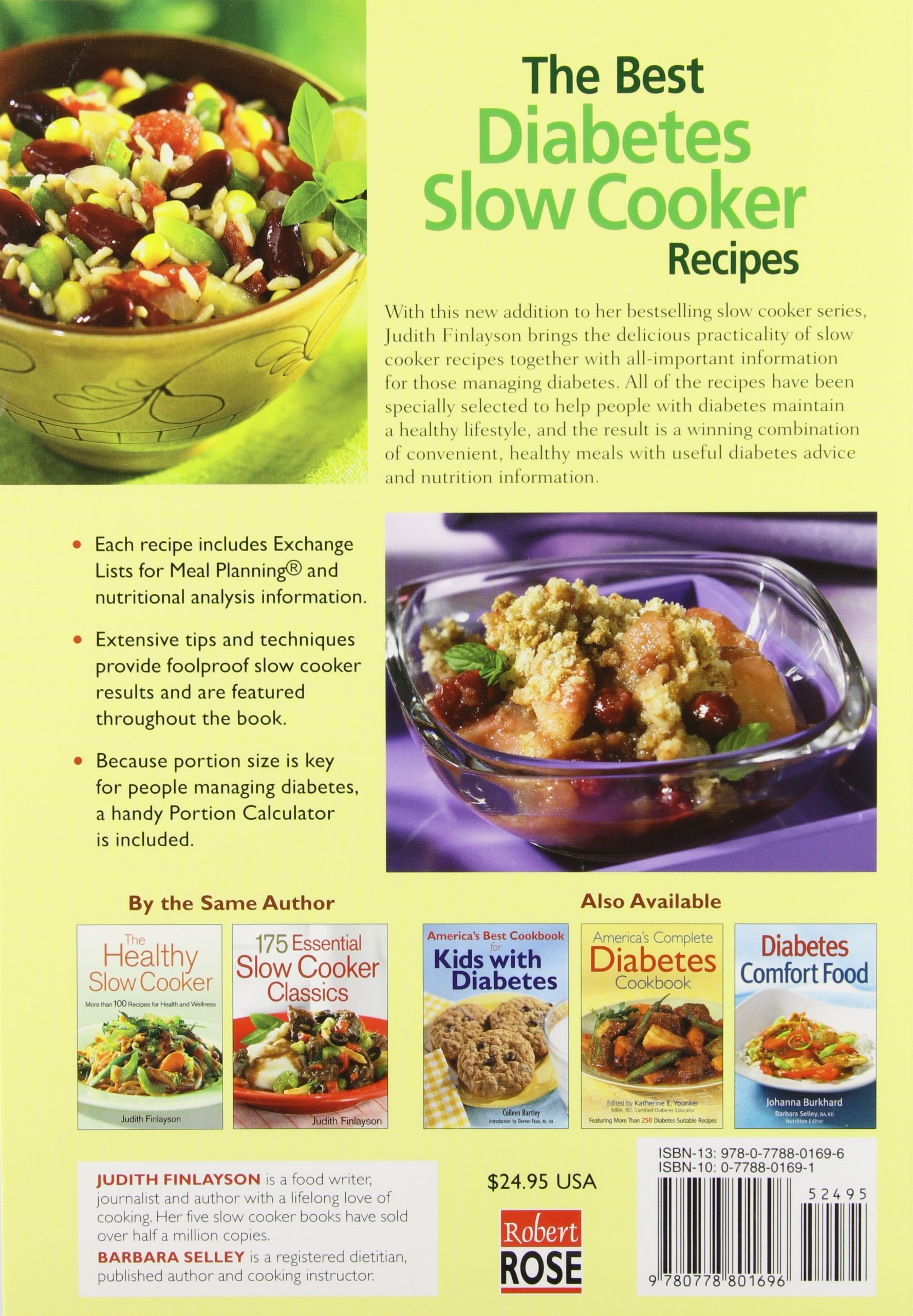Best diabetes slow cooker recipes judith finlayson 9780778801696 best diabetes slow cooker recipes judith finlayson 9780778801696 amazon books forumfinder Image collections