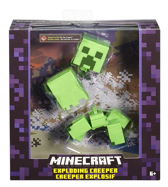 Amazon.com: Muñeco de Creeper de Minecraft de 5 ...