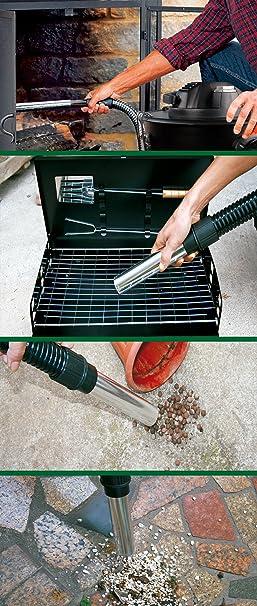 Stayer 1200D Aspirador de Ceniza, 1200 W, 230 V, Verde, 0: Amazon ...