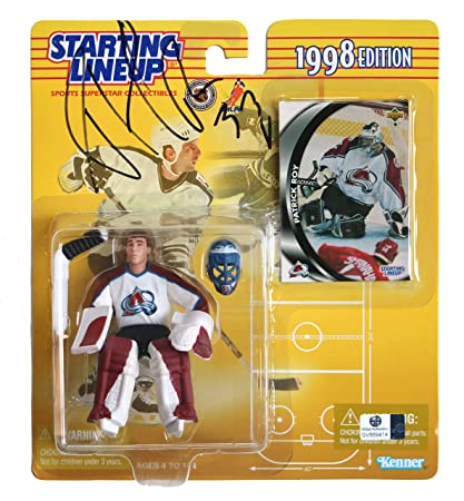 9ba91216937 Image Unavailable. Image not available for. Color  Patrick Roy Colorado  Avalanche Signed ...