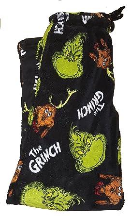Dr Seuss How the Grinch Stole Christmas   Max Fleece Sleep Lounge Pants - X- 9e2be098e