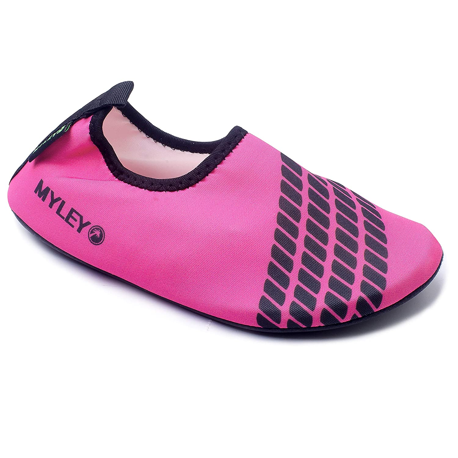 Hysenm Barefoot Water Aqua Shoes Ultra-Light Beach Swim Surf Yoga Exercise Shoes for Kids
