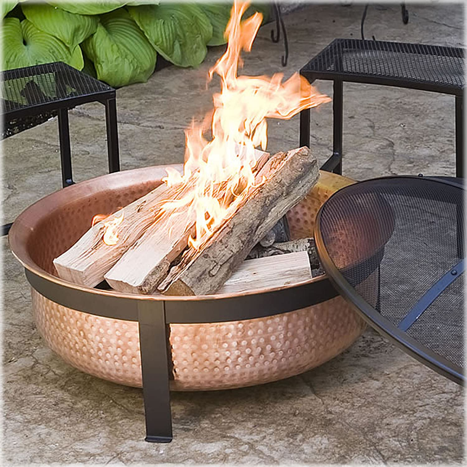 CobraCo SH101 Hand Hammered 100% Copper Fire Pit