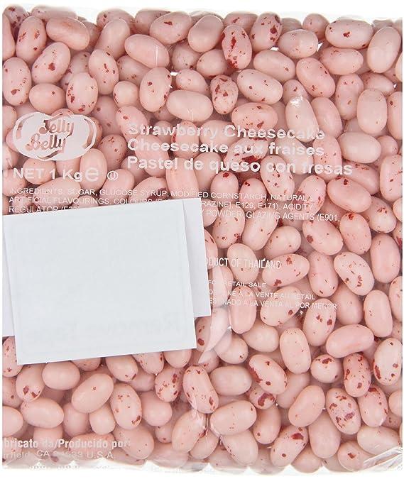 Jelly Belly, Caramelo masticable (Tarta de queso y fresa) - 1000 gr.: Amazon.es: Alimentación y bebidas