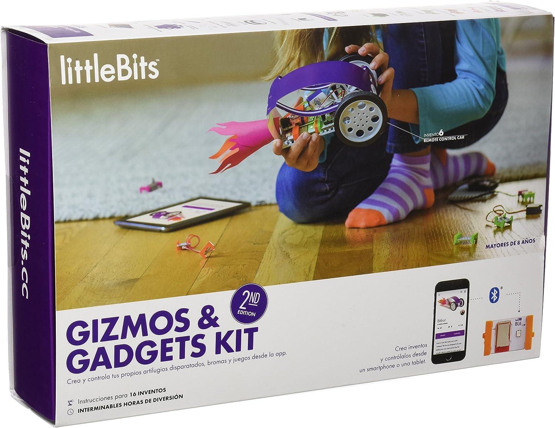 littleBits kit Gizmos y Gadgets, segunda edición, juego de mesa en español (680-0007-B-ES): Amazon.es: Juguetes y juegos