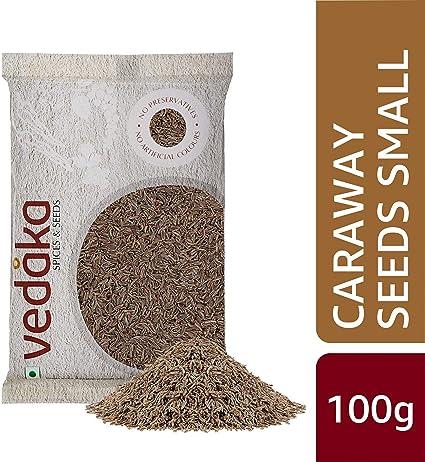 Vedaka Caraway Seeds (Shahjeera), 100g