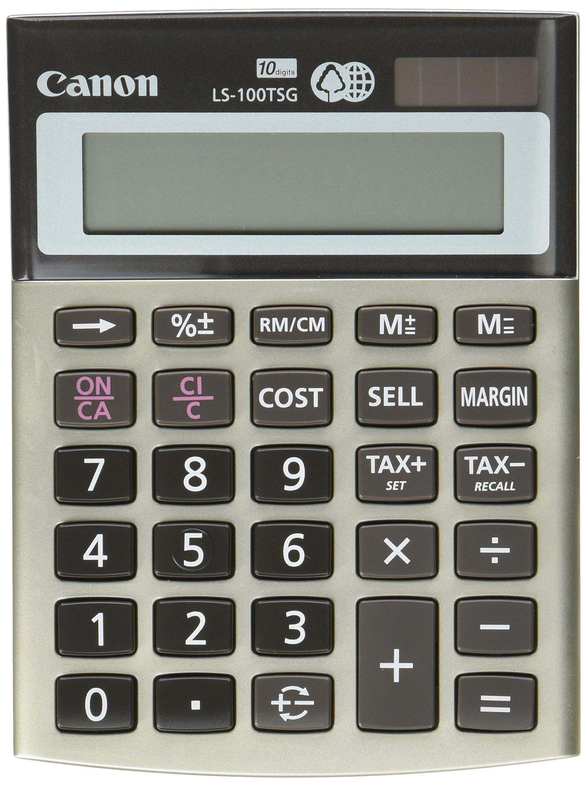 Canon LS-100TSG Mini-Desktop Calculator (4639B001)