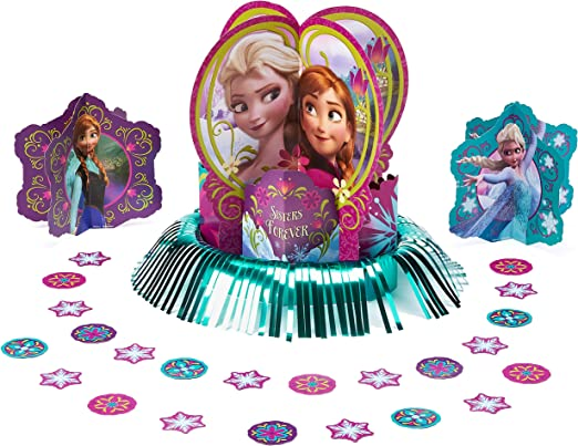 Amazon.com: Kit de decoración para mesa de Frozen de ...
