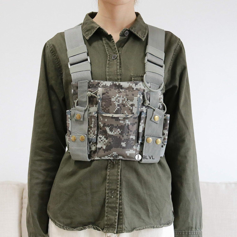 chest holster for vest