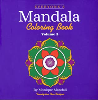 everyones mandala coloring book vol