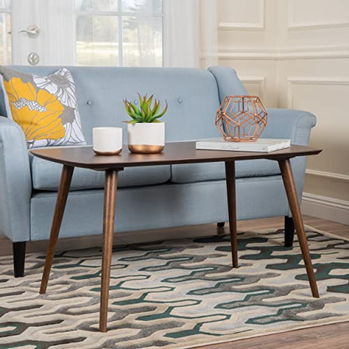 Christopher Knight Home Archian Walnut Wood High Coffee Table