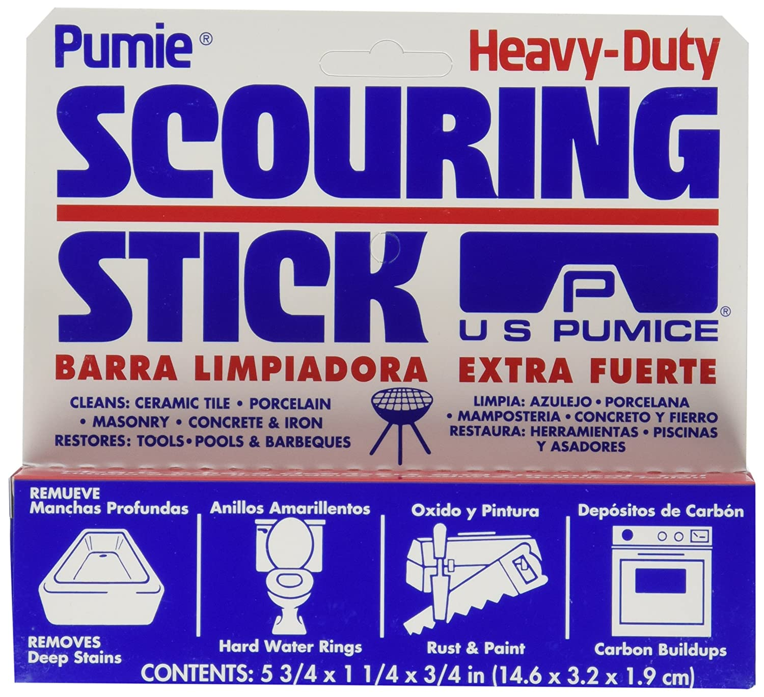 Amazon pumie scouring stick 4pk health personal care dailygadgetfo Gallery