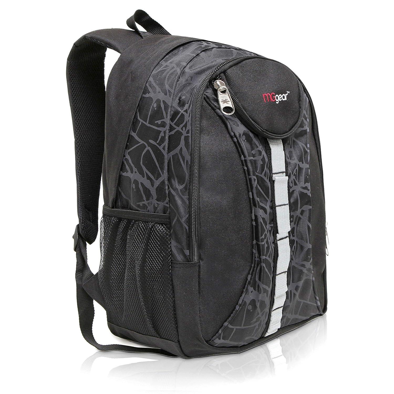Amazon.com   18 Inch MGgear Student Bookbag Outdoor Sports Backpack Travel  Carryon, Black   Backpacks 2e92baefdf