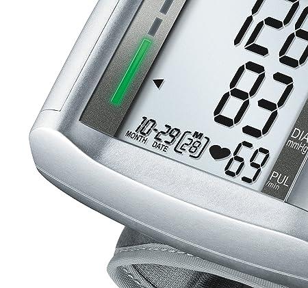 Amazon.com: Beurer BC 19 Handgelenk-Blutdruckmessgerät sprechend: Health & Personal Care