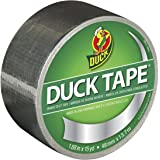 Duck Brand 1303158 Metallic Color Duct Tape, Chrome, 1.88 Inches x 15 Yards, Single Roll