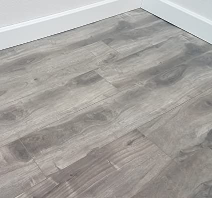 Turtle Bay Floors Ballard Grey Spalted Maple Plank Floating Laminate