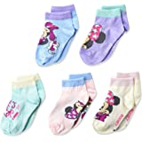 Disney Minnie Mouse 5 Pack Shorty Socks