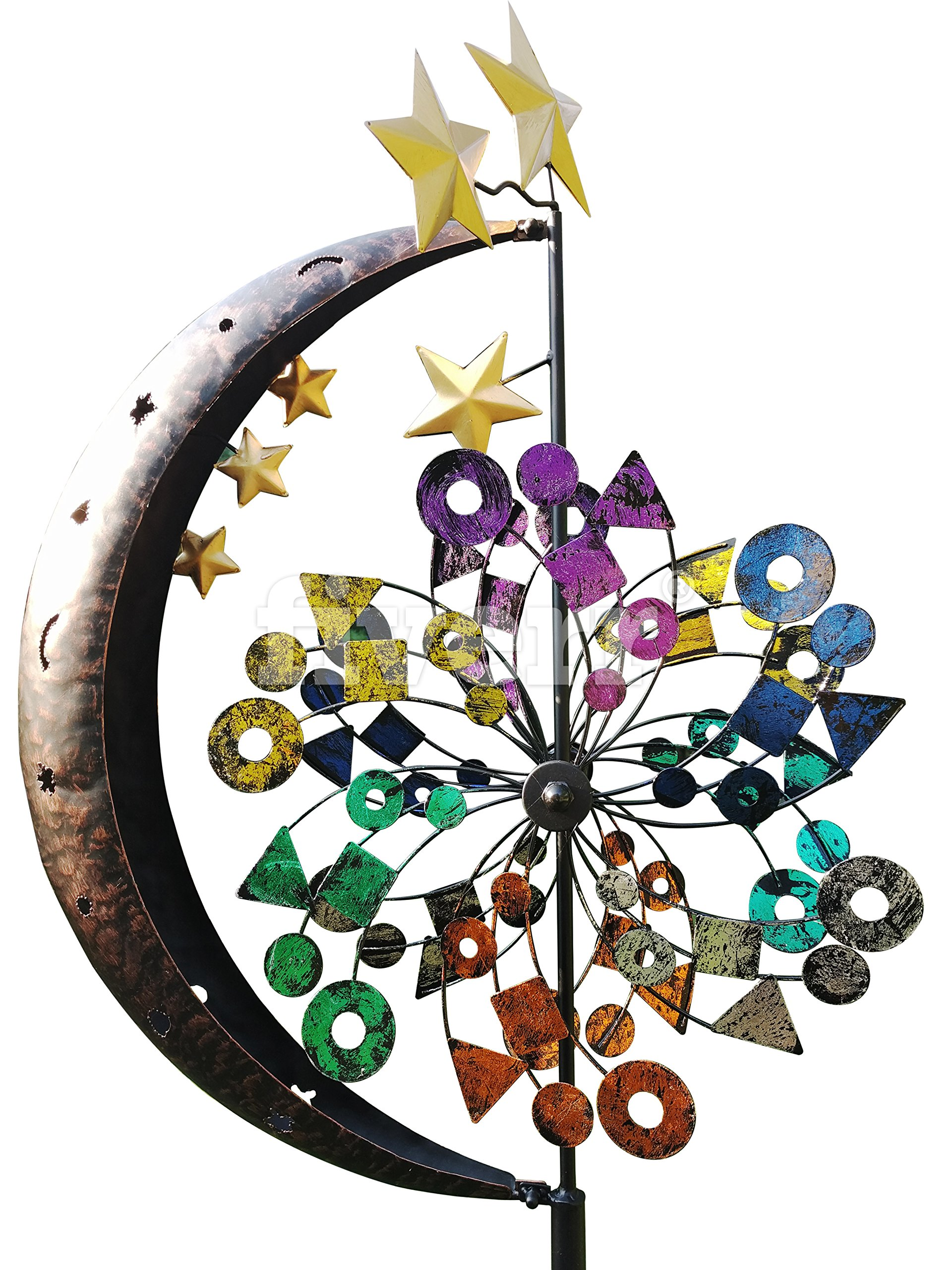 Fancy Gardens Moon & Stars Garden Spinner