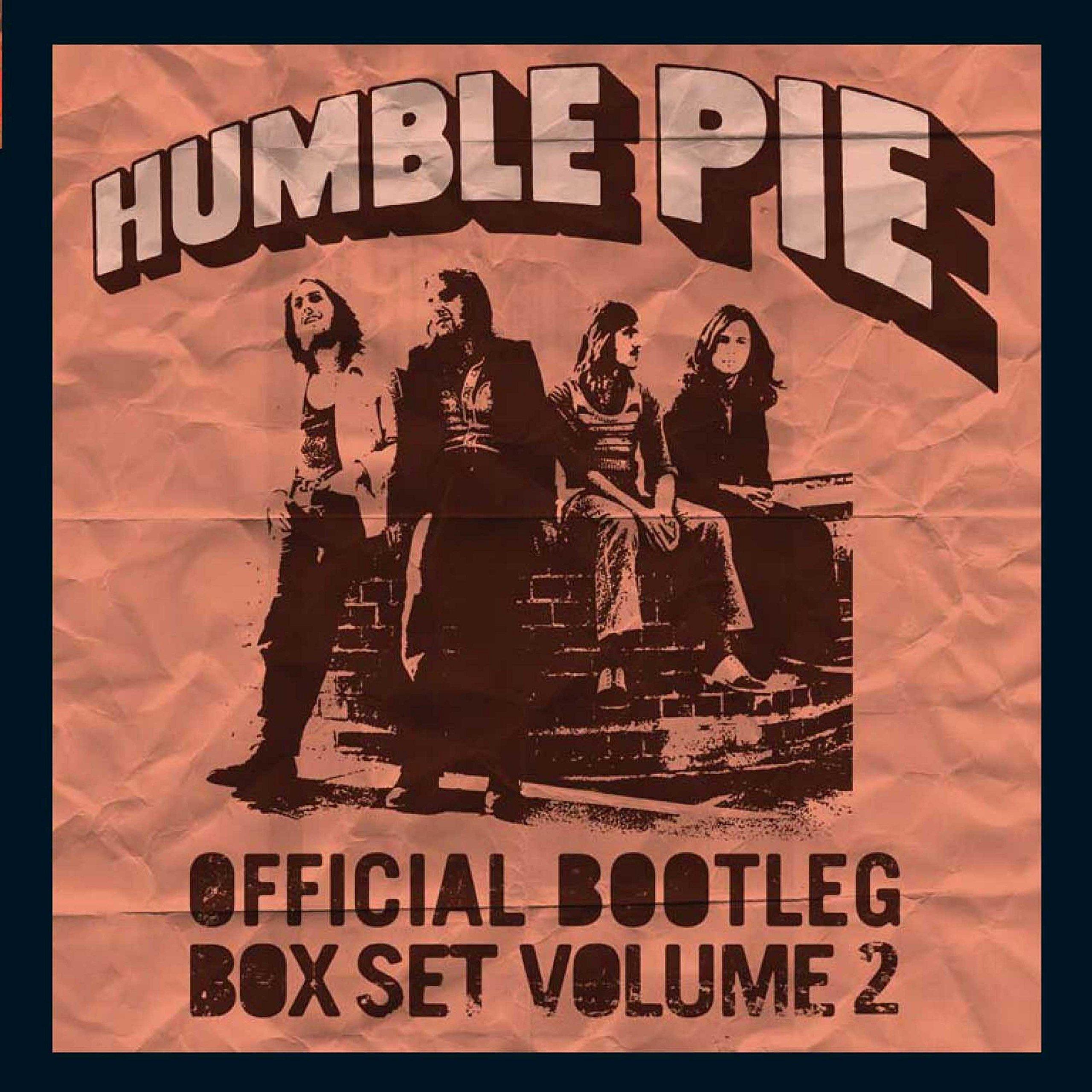 Humble Pie – Official Bootleg Box Set Volume 2 (2018) [FLAC]