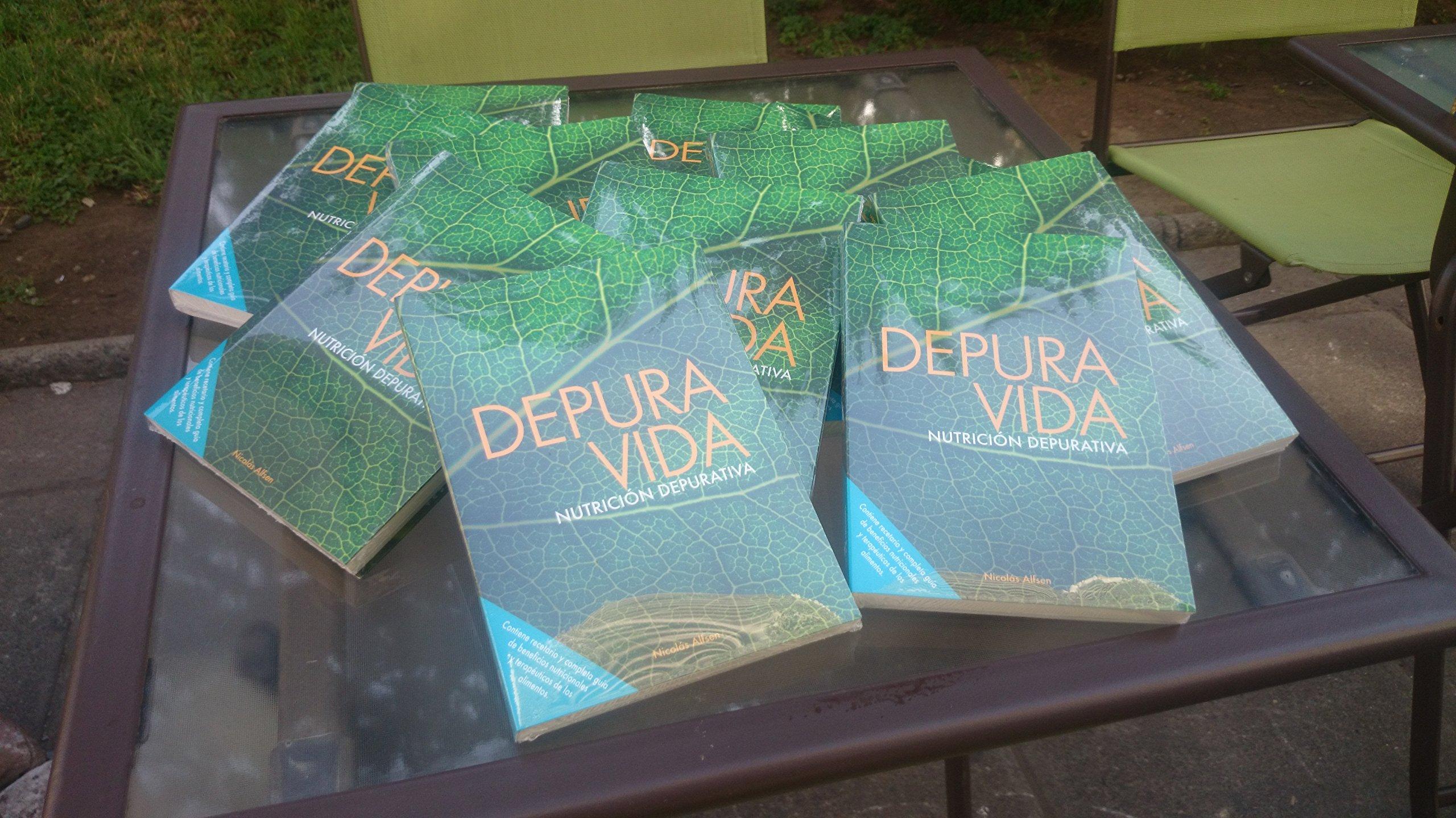 Depura Vida, Nutrición Depurativa: Nicolas Alfsen, PM Ediciones: 9789563581324: Amazon.com: Books