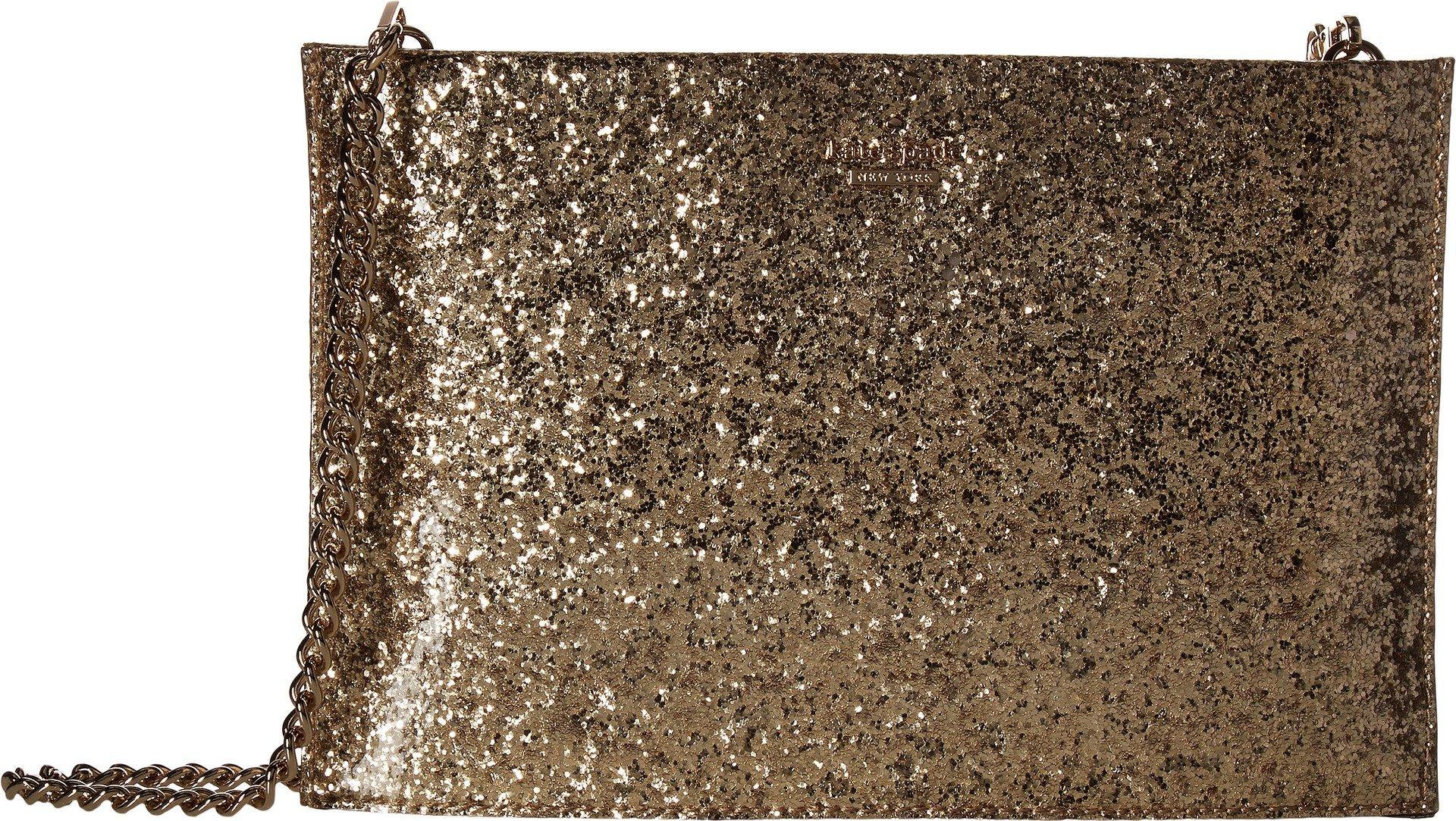 Kate Spade New York Women's Wedding Belles Glitterbug Sima Gold Handbag
