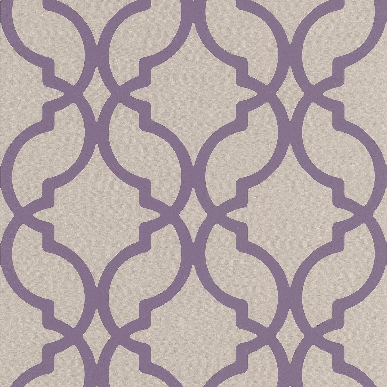 decorline dl30616 harira beige moroccan trellis wallpaper beige amazoncom - Trellis Wall Paper