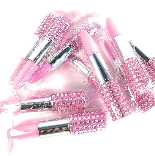 096a6a9c8c Amazon.com: 10PCS Bling Rhinestone Lipstick Pens Ballpoint Pen ...