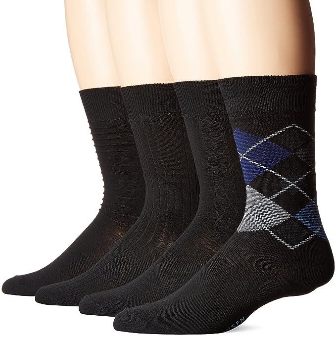 6e871ace70 Van Heusen Men s 4 Pack Dress Socks