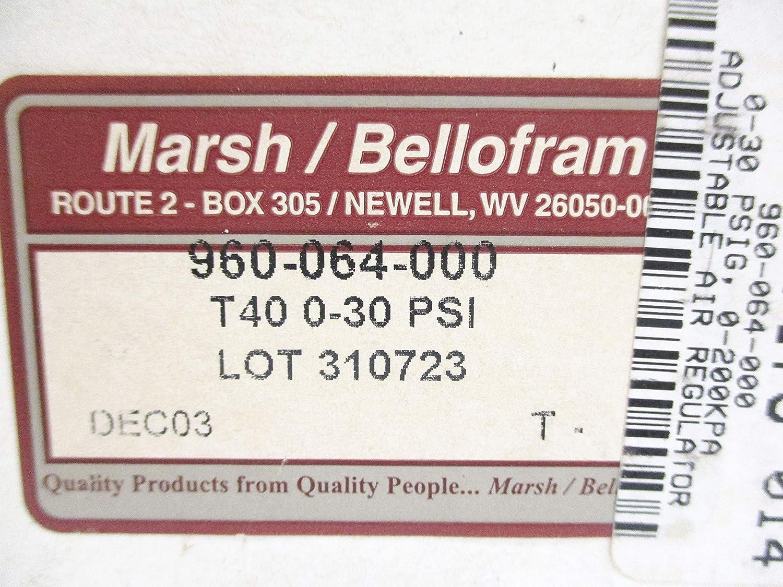 Marsh BELLOFRAM 960-064-000 0-30PSI NSMP