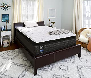 product image for Sealy Response Performance 13.5-Inch Plush Euro Pillow Top Mattress, Twin XL