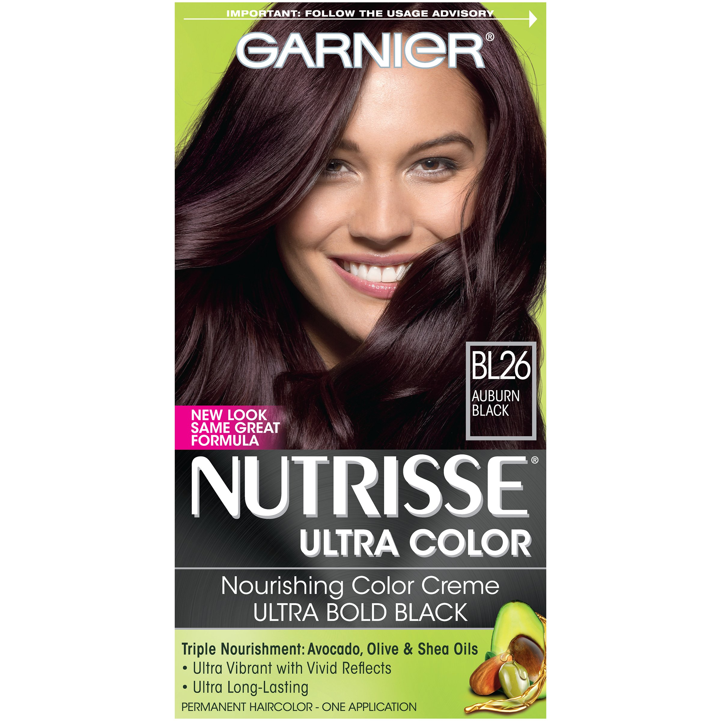 Amazon.com : Garnier Nutrisse Haircolor, R1 Dark Intense ...