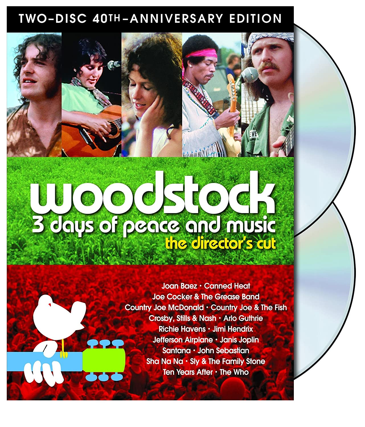 Amazon.com: Woodstock: Three Days of Peace & Music (Two-Disc 40th ...