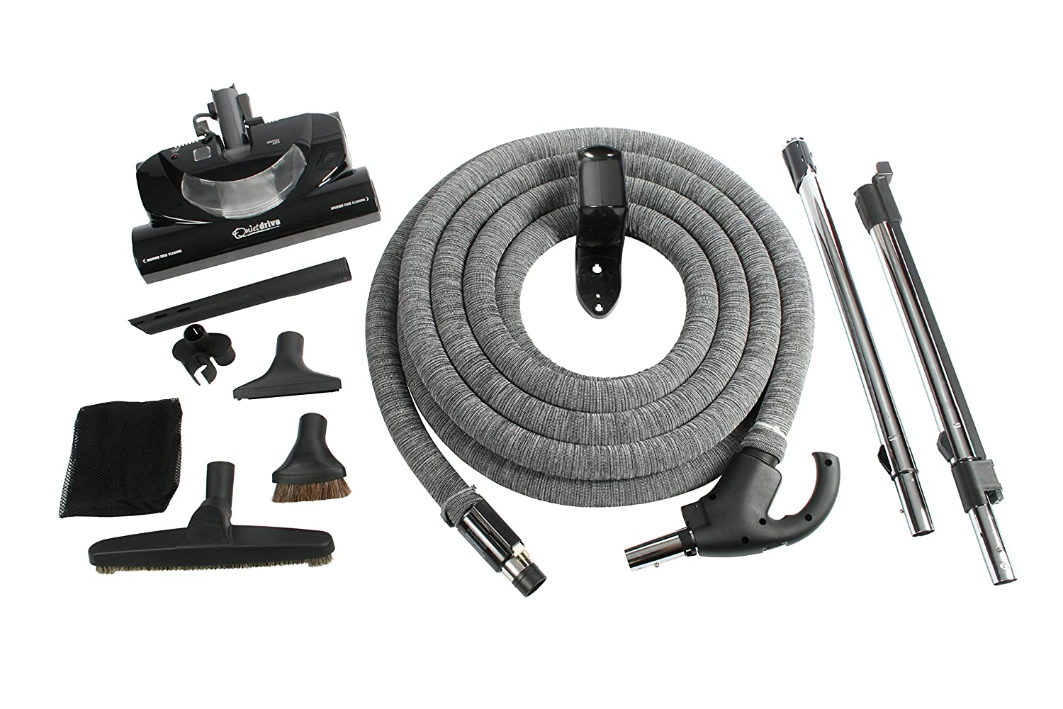 Cen-Tec Systems 92938 Central Vacuum CT20DXQD Kit with 35' DC Hose