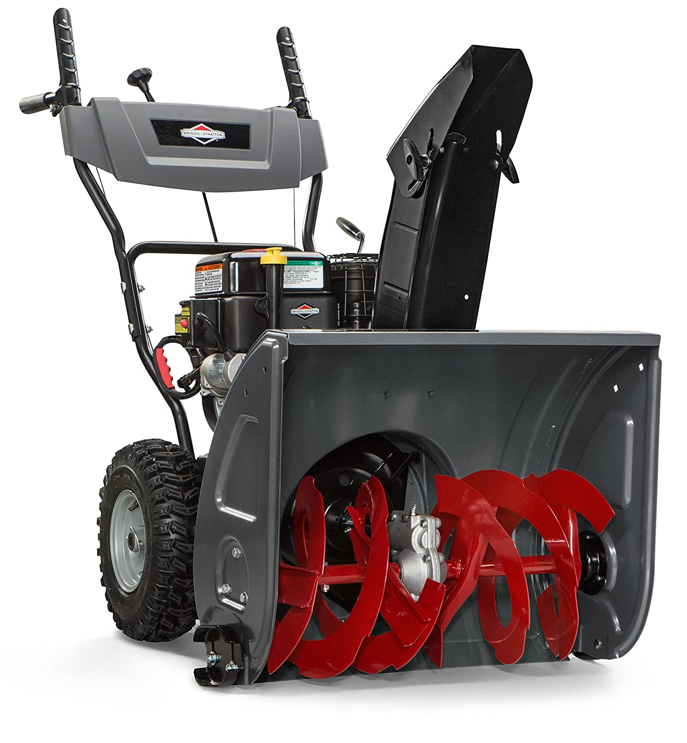 amazon com briggs stratton 24 dual stage snow blower w electric