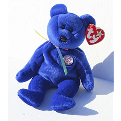 Ty Beanie Babies - 1998 Clubby the Bear (Retired): Toys & Games