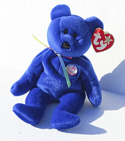 6f27600f615 Amazon.com  Ty Beanie Babies - 1998 Clubby the Bear (Retired)  Toys   Games
