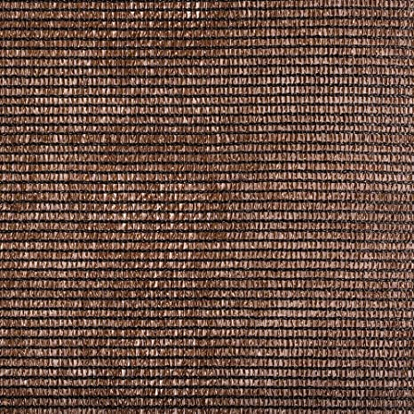 Catral 53010073 - Mini-Rollo - Malla Ocultación Total, - Marrón, 200x1000x4 cm: Amazon.es: Jardín