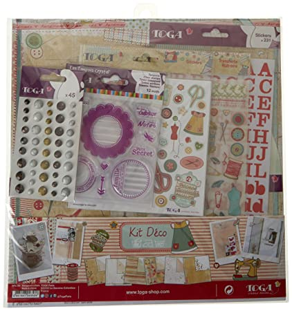 Toga Miss Costura Kit de Recortes, Papel,, 31 x 32 x 1 cm