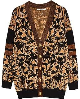 68e55f8bbc3c Uterque Women's Leopard Print Raincoat 0626/550 Black: Amazon.co.uk ...